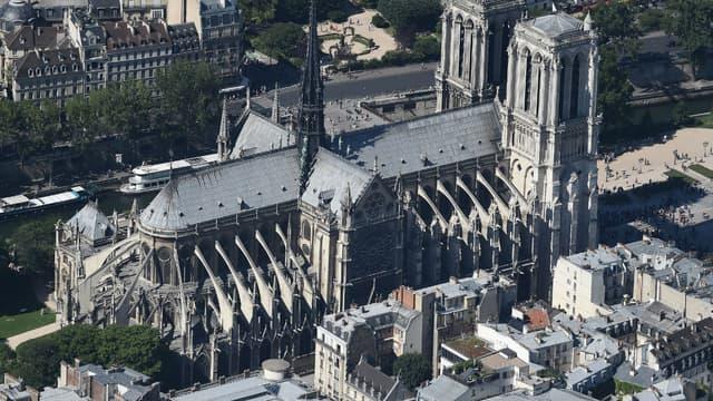 La cathédrale Notre-Dame de Paris en juillet 2017
