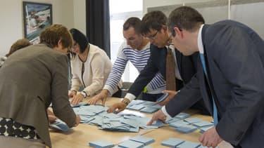 Un bureau de vote à Saint-Pierre-et-Miquelon e n 2017. (Photo d'illustration)