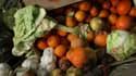 Légumes allant être mis au compost (image d'illustration).