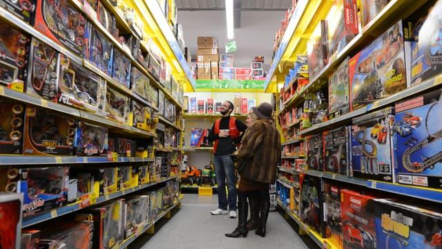 Le marché du jouet a a reculé de 5% par rapport à 2017, tant en volume qu'en valeur, pour atteindre un chiffre d'affaires de 3,4 milliards d'euros.