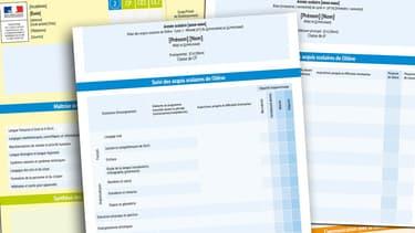 Najat Vallaud-Belkacem dévoile les nouveaux bulletins de notes, les livrets scolaires.