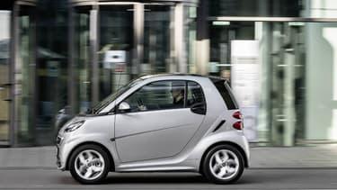 La Smart Fortwo était en 2015 la voiture la plus volée en France.