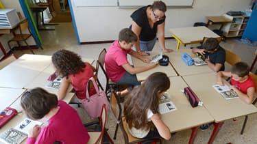Une école primaire de Vitrolles, le 27 août 2012.