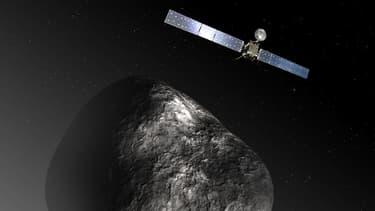 La sonde Rosette a finalement rejoint la comète Tchouri, après un voyage de 10 ans.