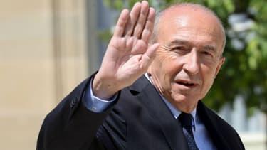 Gérard Collomb à l'Elysée le 27 juin 2018