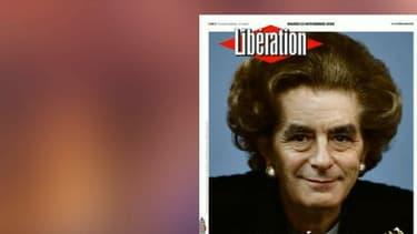 La Une de Libération mardi 22 novembre