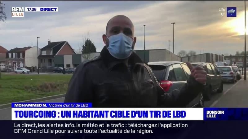 Tourcoing: victime d'un tir de LBD, alors qu'il se promenait en bas de chez lui, un habitant porte plainte