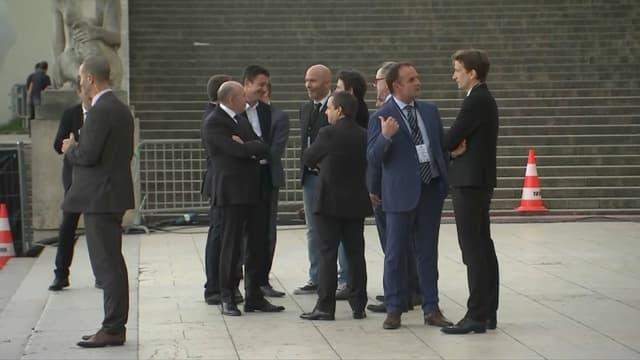 Plusieurs ministres ont fait le déplacement au théâtre de Chaillot.