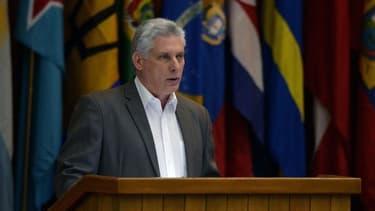 En septembre, le président cubain Miguel Diaz-Canel avait déclaré qu'il était favorable au mariage entre personnes de même sexe.