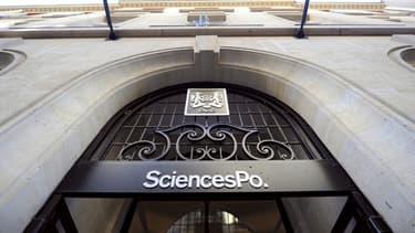La façade de Sciences Po Paris.
