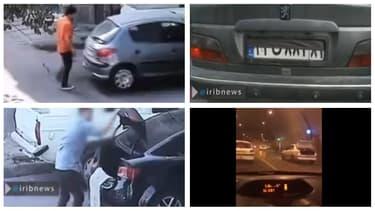 Un homme qui marche derrière votre voiture, un simple drap tendu à l'arrière du véhicule, le coffre ouvert ou un système de dissimulation plus élaboré... une sélection d'astuce pour ne pas se faire prendre sa plaque.