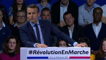 Emmanuel Macron, ce samedi à Paris