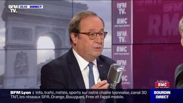 """Colère étudiante: François Hollande déplore """"le recours à la violence"""""""