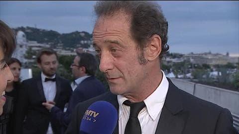 """Vincent Lindon, prix d'interprétation à Cannes: """"S'engager, c'est la moindre des choses"""""""