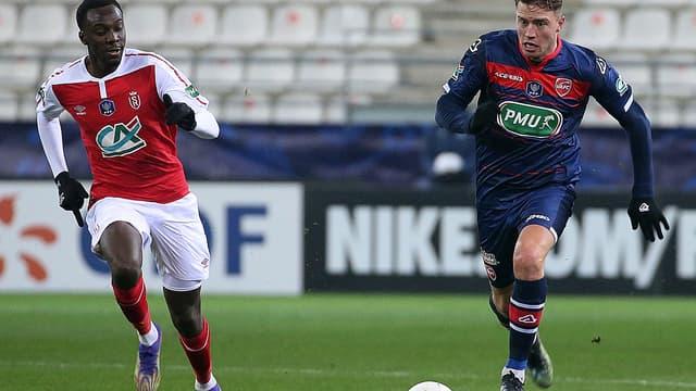 Baptiste Guillaume a inscrit un doublé pour Valenciennes
