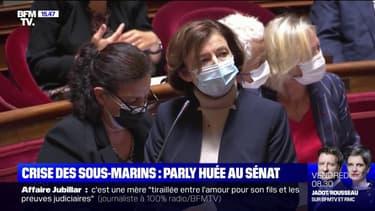 Crise des sous-marins: Florence Parly, huée au Sénat