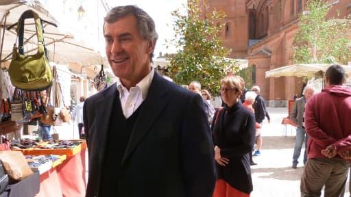 Jérôme Cahuzac le 11 mai 2013 à Villeneuve-sur-Lot