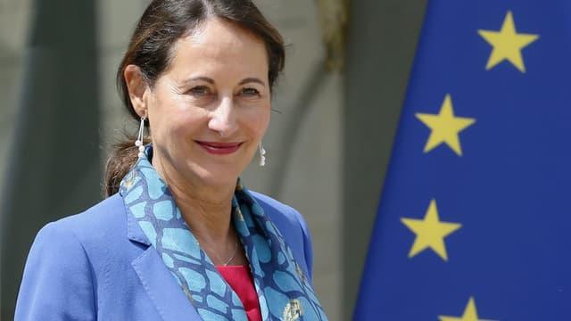 Ségolène Royal le 16 juillet 2014 à la sortie d'un conseil des ministres.