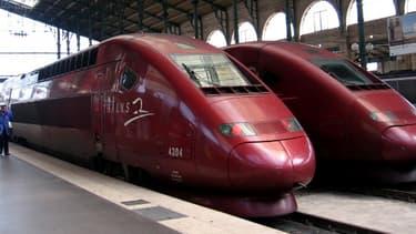 6,7 millions de voyageurs ont pris le Thalys en 2013.