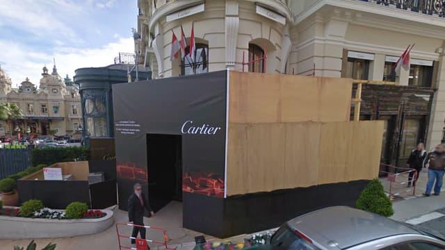 Trois hommes ont pénétré dans la bijouterie Cartier de Monaco avant de prendre la fuite.