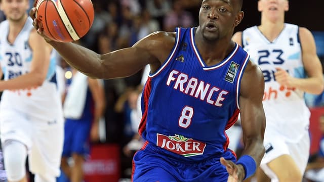 Charles Kahudi dispute son troisième Euro avec les Bleus.