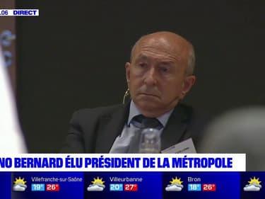 """""""Vous êtes et resterez dans l'histoire de Lyon"""": l'hommage de Bruno Bernard à Gérard Collomb"""