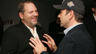 Harvey Weinstein et Kevin Spacey à New York en 2006