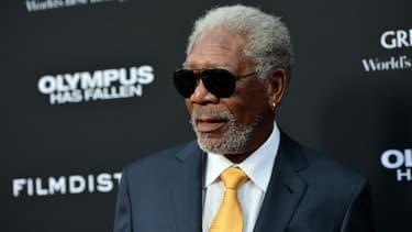 Morgan Freeman, le 18 mars 2013