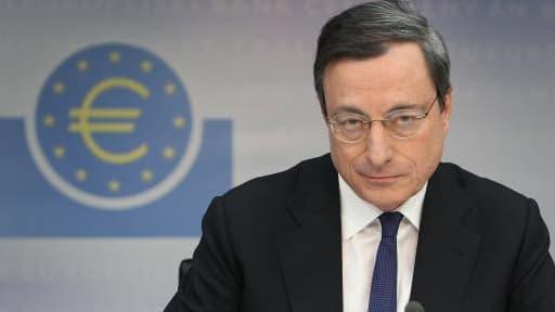 """Mario Draghi a rappelé que """"les grands pays doivent s'en tenir aux règles budgétaires""""."""