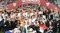 Séville rejoint Liverpool, la Juve et l'Inter parmi les triples vainqueurs de la Ligue Europa