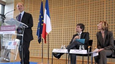 Pierre Moscovici, Arnaud Montebourg et Nicole Bricq ont défendu l'attractivvité française, ce mercredi 9 janvier.