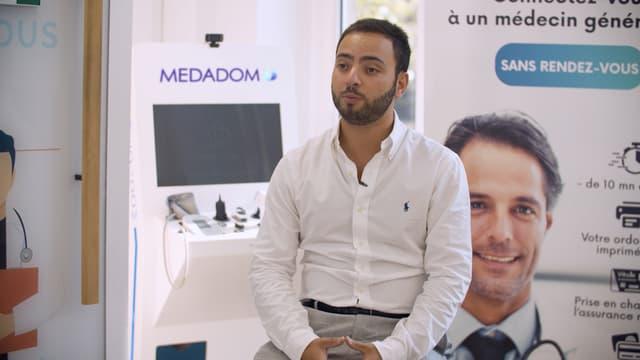 MEDADOM, une innovation technologique autour de la téléconsultation