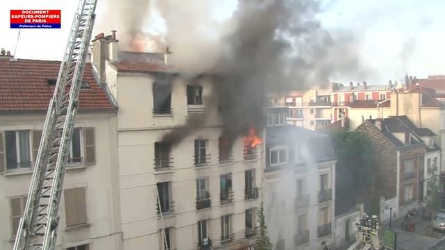 Un violent incendie a fait au moins 5 morts lundi 6 juin à Saint-Denis.