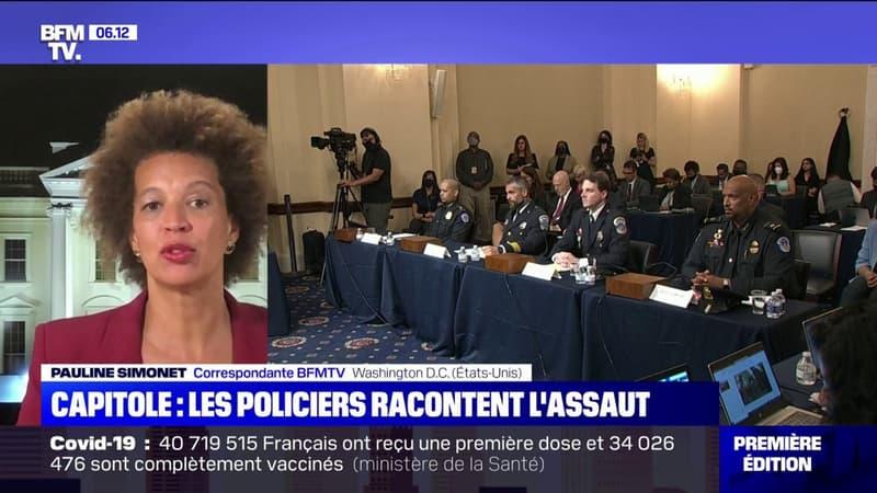 Attaque du Capitole: quatre policiers témoignent au Congrès des violences physiques et verbales des assaillants