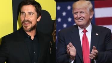 Christian Bale et Donald Trump