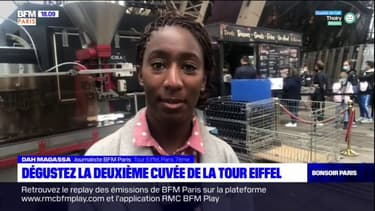 Paris: la Tour Eiffel a son propre vin