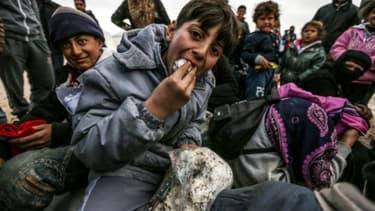 Des réfugiés syriens arrivés en Turquie