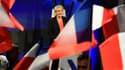 Marine Le Pen le 7 mai 2017.