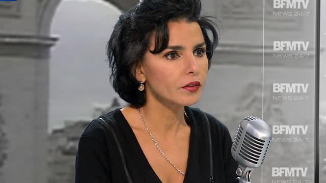 Rachia Dati sur BFMTV le 11 décembre 2014.