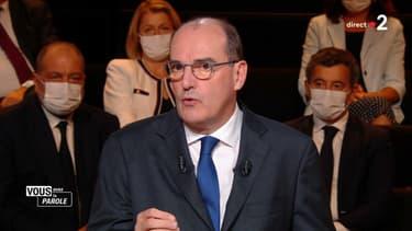 Jean Castex sur France 2, le 24 septembre 2020