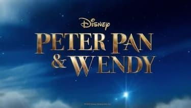 """L'affiche du film """"Peter Pan & Wendy"""""""