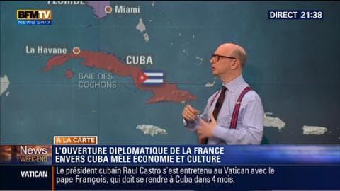 Harold à la carte: Visite de François Hollande à Cuba: quels sont les enjeux de ce déplacement historique ?
