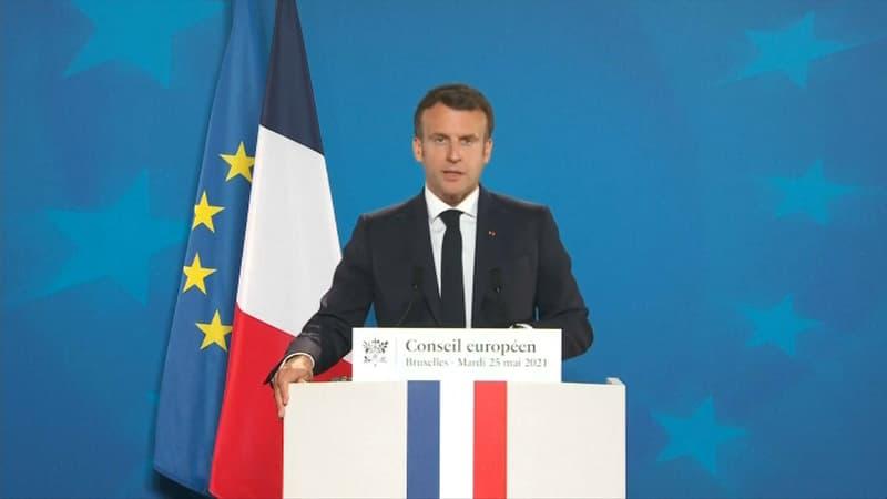 """Macron demande à """"recadrer"""" les relations de l'UE avec la Russie car les sanctions ne sont """"plus efficaces"""""""