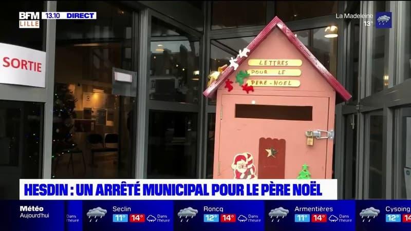 Hesdin: un arrêté municipal original autorise le Père Noël à circuler librement la nuit du 24 au 25 décembre