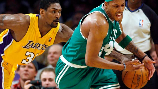 Le duel entre Ron Artest et Paul Pierce sera l'une des clefs du match