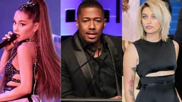 Ariana Grande, Nick Cannon et Paris Jackson