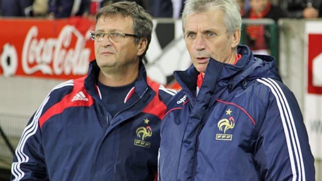 Francis Smerecki (à droite)