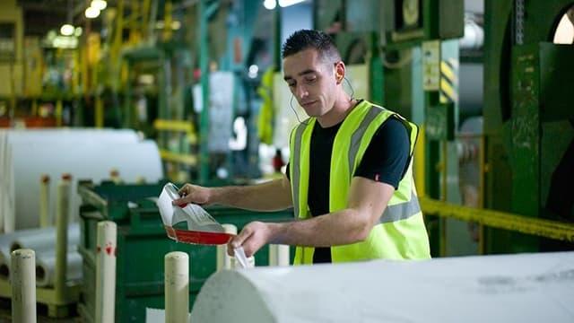 """Les actifs concernés par la procédure de sauvegarde comptent """"des marques renommées en papiers fins haut de gamme et en papiers graphiques recyclés"""", ainsi qu""""un """"outil industriel unique dans la production de pâte à papier 100% recyclée""""."""