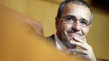 Jean-Guy Talamoni, président de l'Assemblée nationale.
