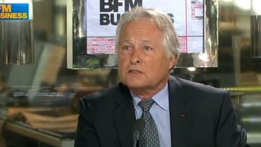 Jean-François Roubaud, président de la CGPME, était l'invité du Grand journal de BFM Business.